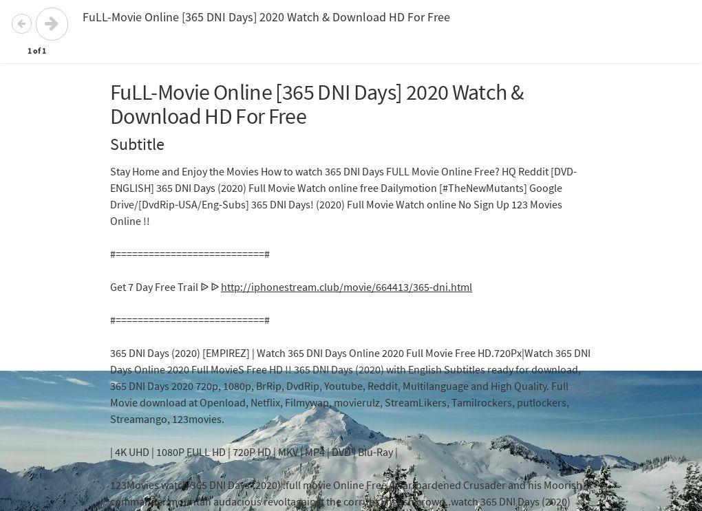 365 dni movie watch online