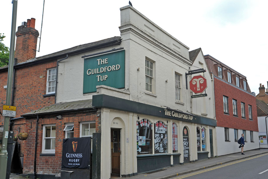 See Which Guildford Pubs Of 60s 70s And 80s Are Still